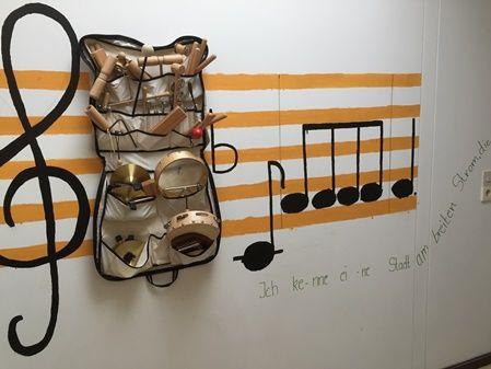 Musikecke im Spatzennest