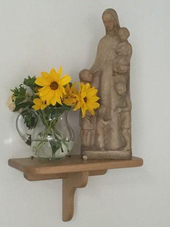 Unsere Marienfigur im Eingang